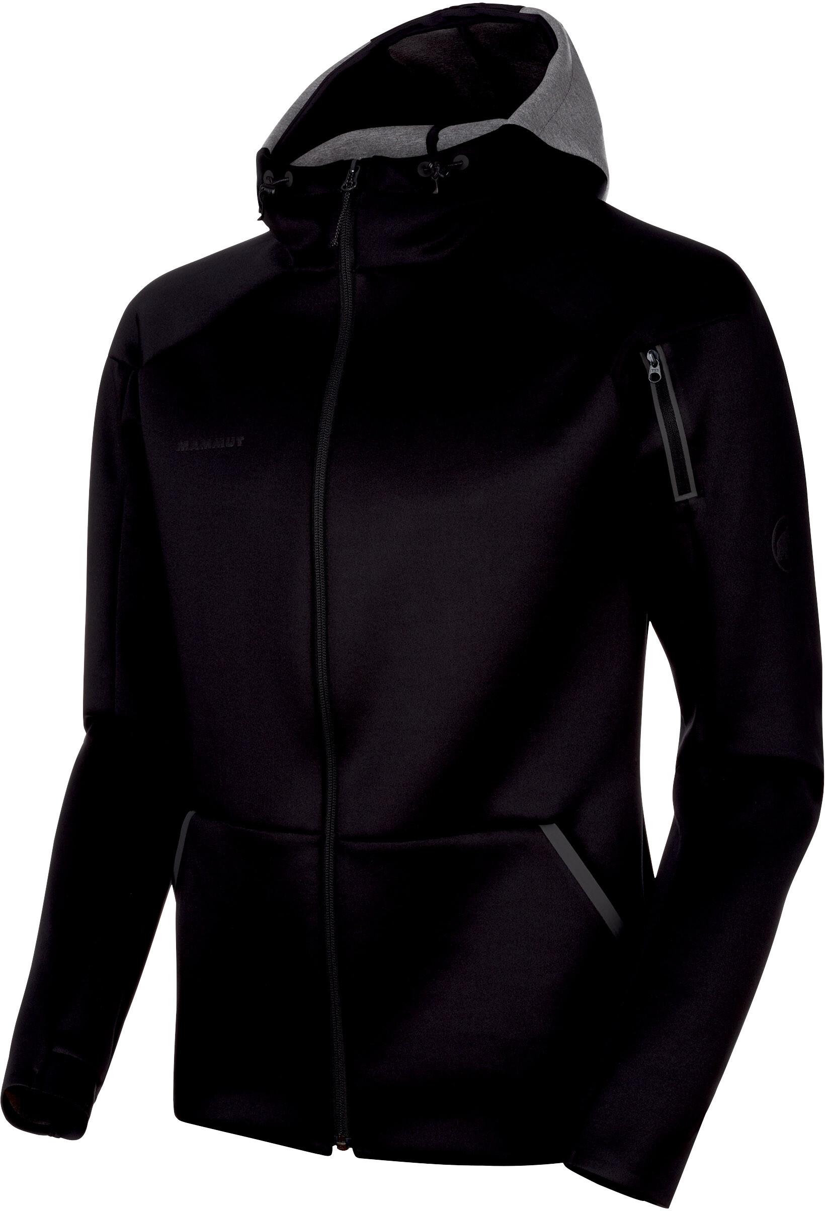 b1a87723 Mammut Logo Jakke Herrer, black melange | Find outdoortøj, sko ...